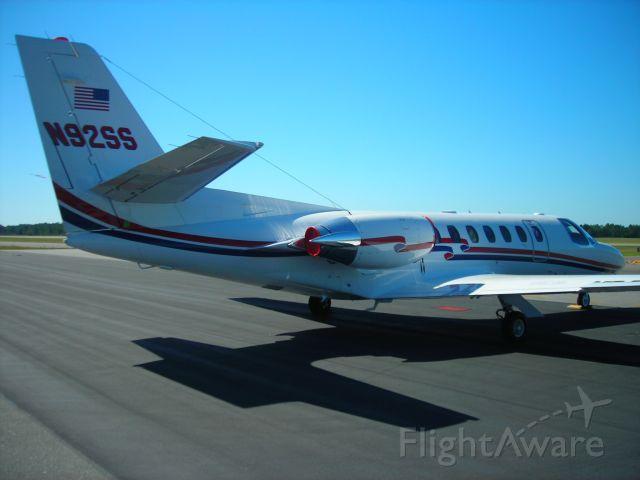 Cessna Citation V (N92SS) - C 560 Citation V