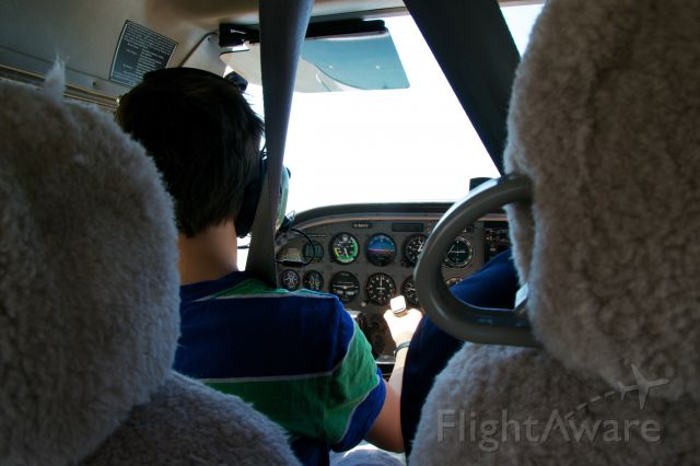 Cessna Skyhawk (C-GAVV) - My first flight..... Before I knew to have one hand on the throttle at all times. Lol