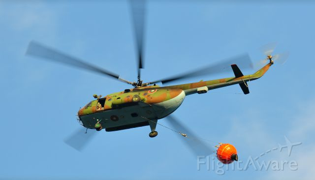 — — - MI 17 in action Bistritza, Bulgaria