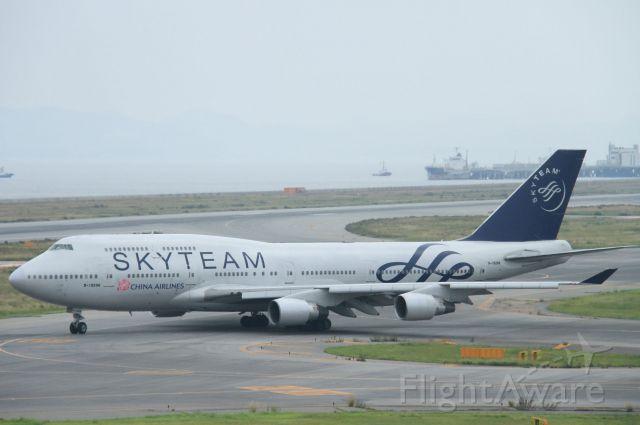 Boeing 747-400 (B-18206)