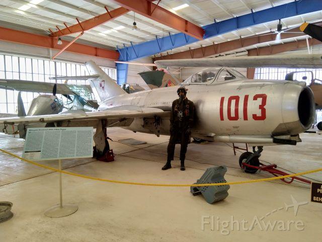 — — - Mikoyan-Gurevich MiG-15bis. Polish Air Force. This aircraft is located at the War Eagles Air Museum, Santa Teresa, New Mexico.