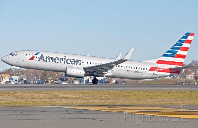 Boeing 737-800 (N973AN) - 33L lift off