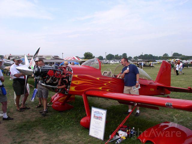 Mooney M-20 (N108MB) - Taken at Oshkosh 03 Airventure