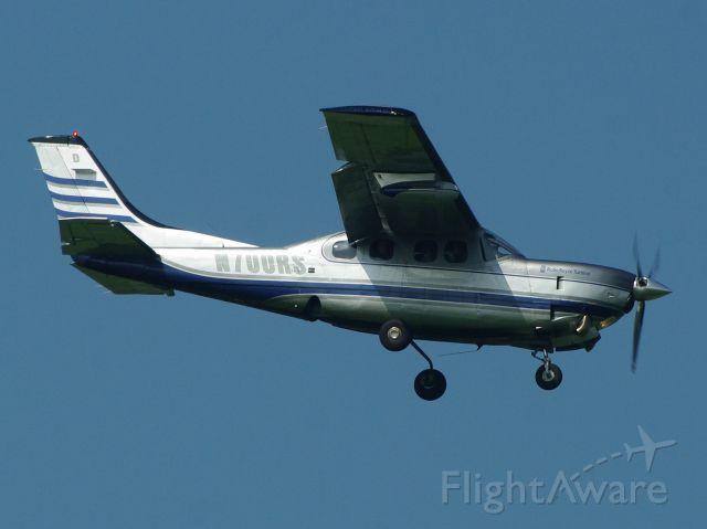 Cessna P210 (turbine) (N700RS) - fotografato dal sottoscritto in atterraggio a Villafranca di VERONA italia