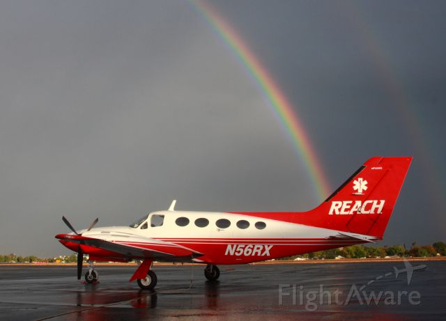 Cessna 421 (LREH50)
