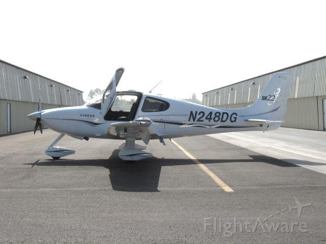Cirrus SR-22 (N248DG) - Parked at Fullerton