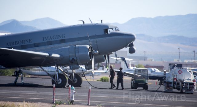 Douglas DC-3 (N92578) -  05/10/215 AIRBORNE IMAGING LEASING LLC, DC3C 1830-94, R-1830 SERIES, MFG. 1943, Tucson Az.