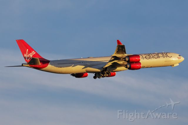 Airbus A340-600 (G-VRED)