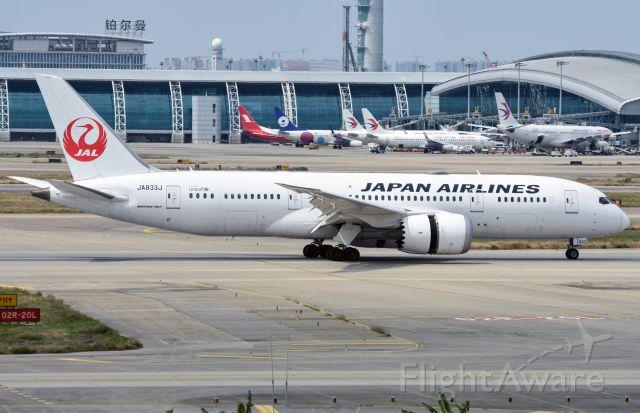 Boeing 787-8 (JA833J)