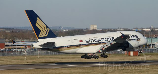 Airbus A380-800 (9V-SKN)