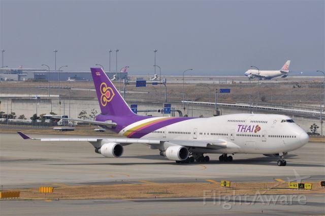 Boeing 747-400 (HS-TGG)