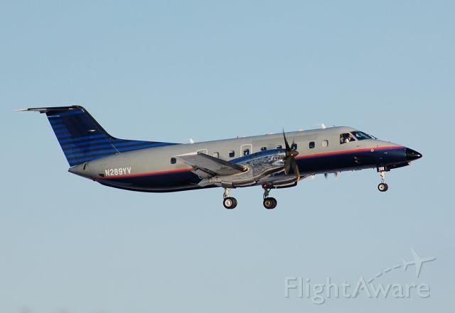 Embraer EMB-120 Brasilia (N289YV) - Departing Barnes for Wellsville, NY