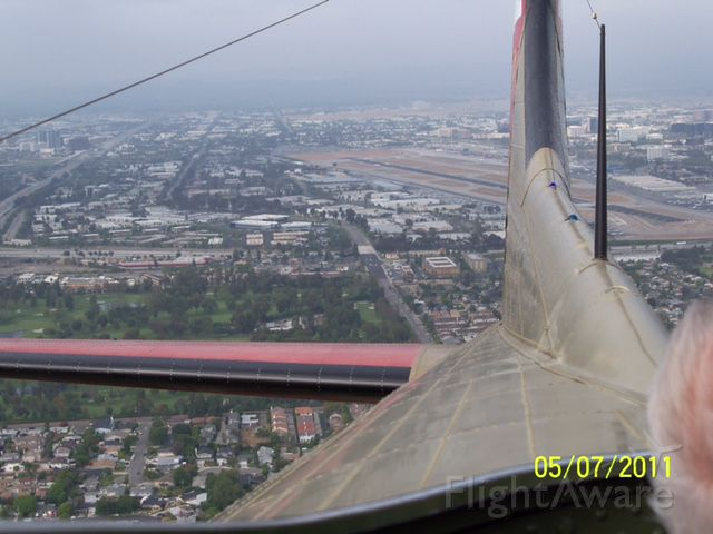 — — - climbing out from 19R - B-17G Nine-O-Nine