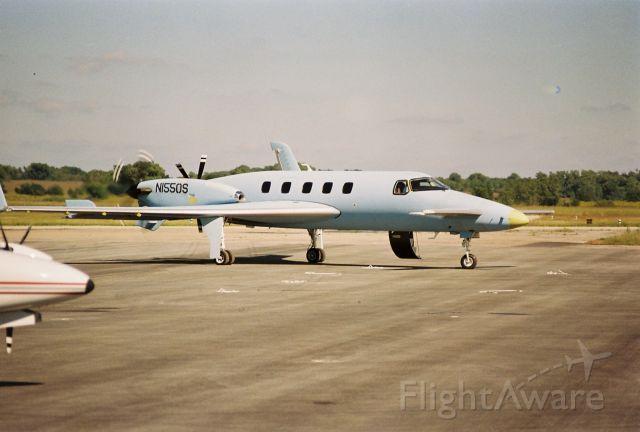 N1550S — - Pre-paint test flight landing at Hutchinson Kansas