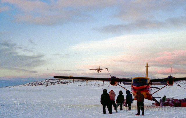 De Havilland Canada Twin Otter — - 1982 Twin Otter operating out on frozen lake around CYPX, Canada