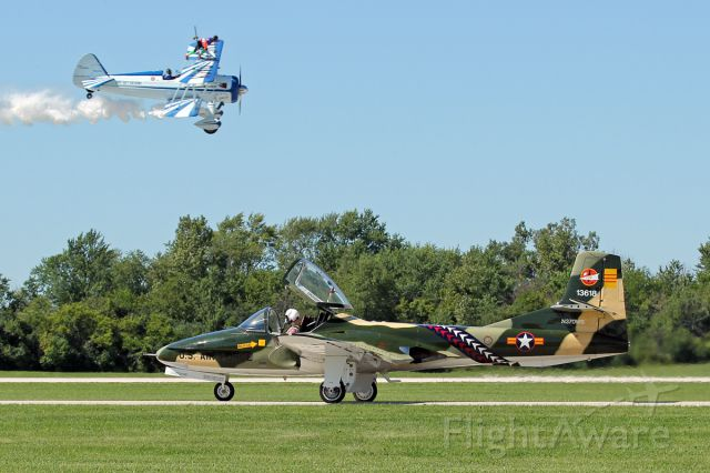 Cessna 318C (N370WB) - Wings Over Waukegan airshow - September 6, 2014