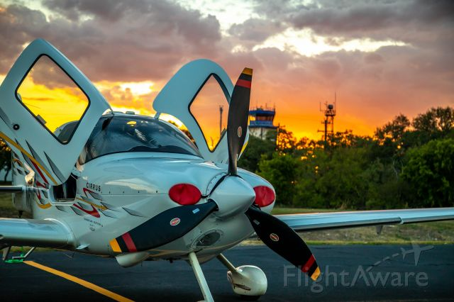 Cirrus SR-22 (N622AD) - On the East Ramp at Georgetown airport.
