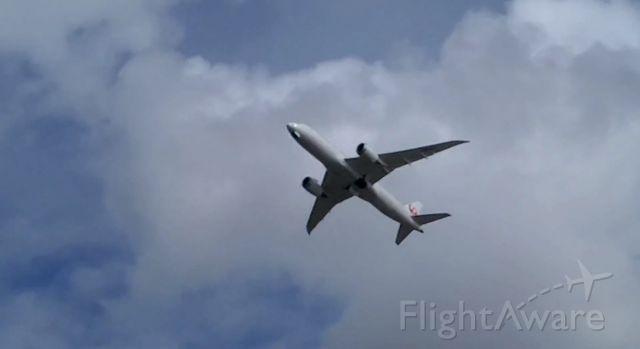 Boeing 787-8 (JA842J) - Japan Airlines #65 Departing San Diego for a long 12 hr flight to Tokyo Narita