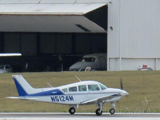 Beechcraft Sundowner (N5124M) - Take off runway 28.