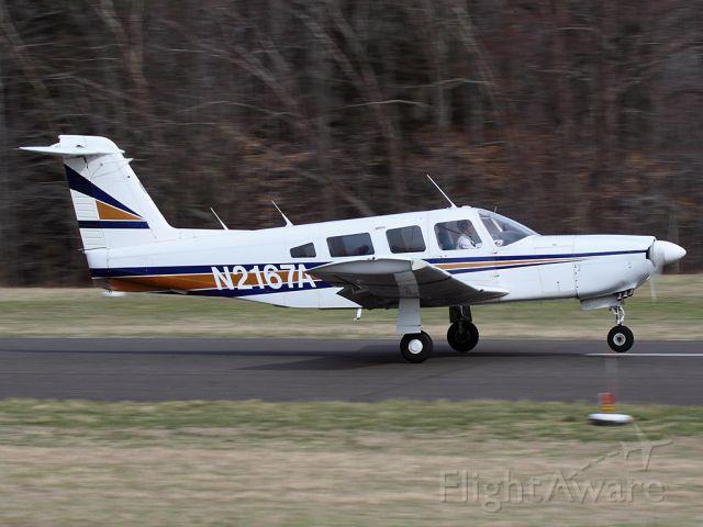 Piper Saratoga/Lance (N2167A)