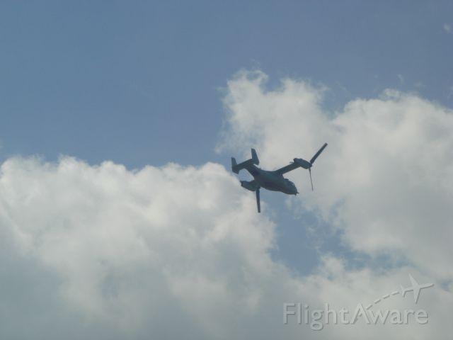 """Bell V-22 Osprey — - V-22 Osprey In """"airplane mode"""" Melbourne Air Show 21MAR15"""