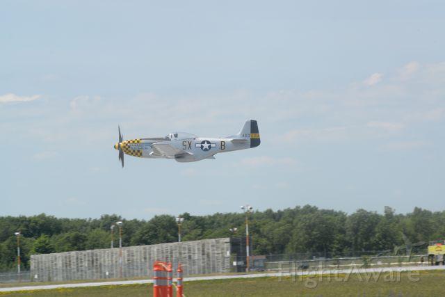— — - P-51 Mustang CFB Trenton