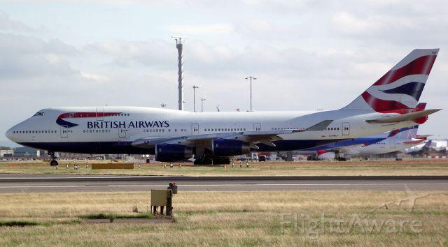 Boeing 747-200 (G-BNLF) - British Airways