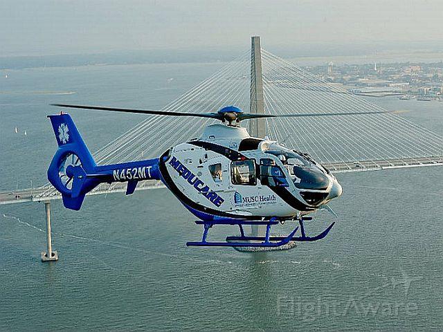 N452MT — - Flying over the Arthur Ravenal Bridge, Charleston, SC