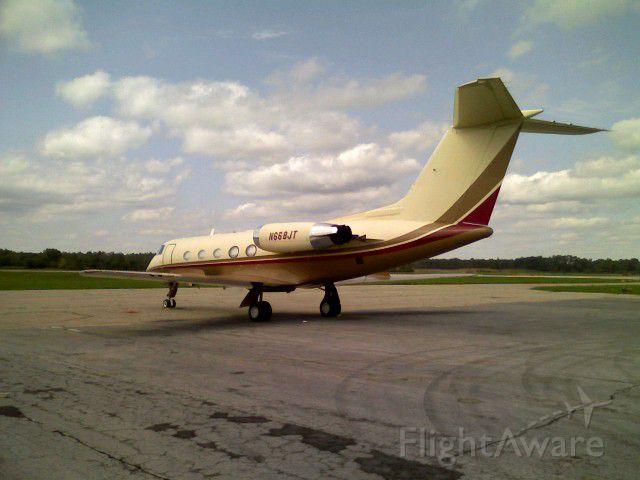 Gulfstream American Gulfstream 2 (N668JT) - John Travolta