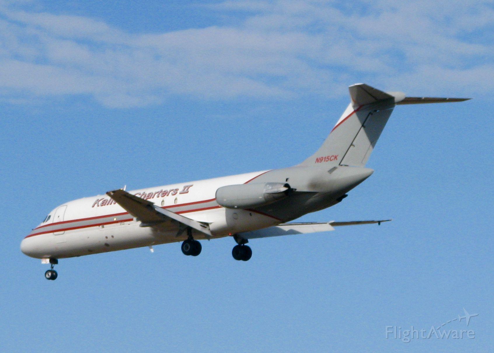 Douglas DC-9-10 (N915CK) - At Shreveport Regional.