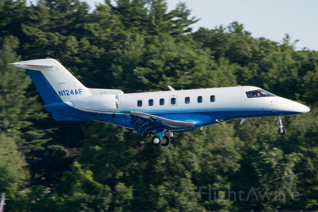 Pilatus PC-24 (N124AF) - The first PC-24 delivered to a customer.
