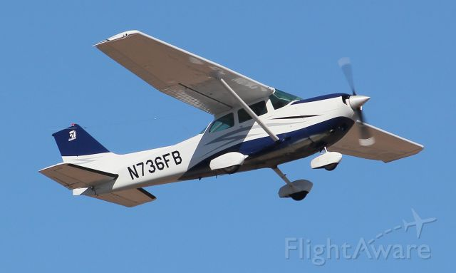 N736FB — - Departing KDVT Feb 9, 2011. Picture by Chris Kennedy