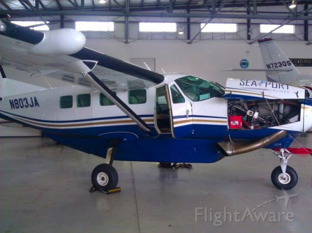 Cessna Caravan (N803JA) - Sasquatch two two