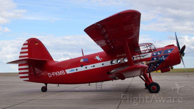 Antonov An-2 (D-FKMB) - Besucher