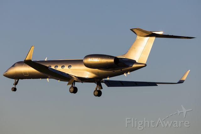 Gulfstream Aerospace Gulfstream IV (N474MJ)