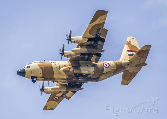 Lockheed C-130 Hercules (SU-BAS)