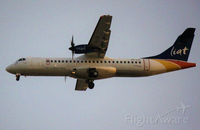 Aerospatiale ATR-72-600 (V2-LIC)
