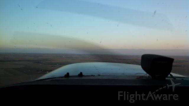 Cessna Skyhawk (N5044E) - Above Western Nebraska