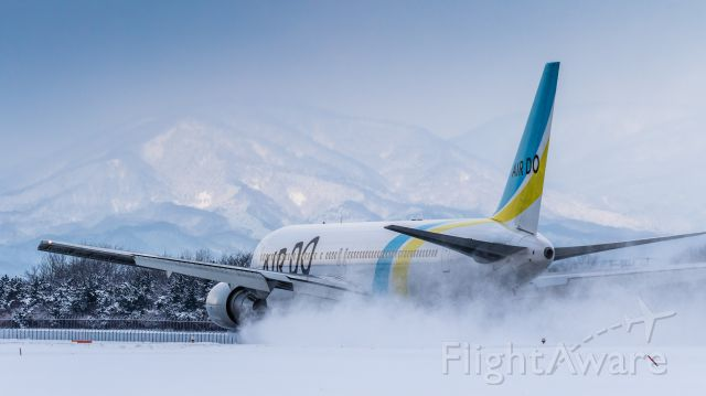 JA8359 — - Hokkaido International Airlines / Boeing 767-381<br />Jan.09.2016 Hakodate Airport [HKD/RJCH] JAPAN