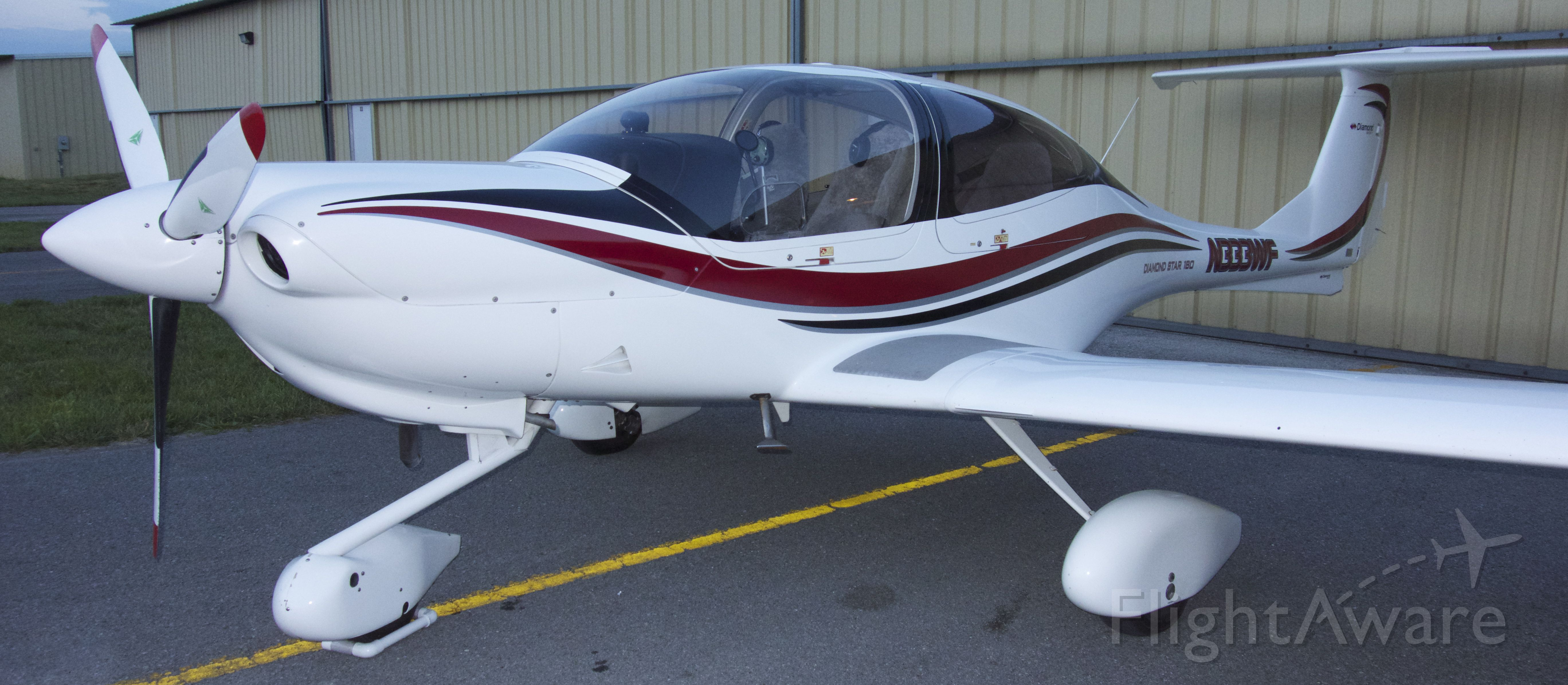 Diamond Star (N333WF) - Just completed the make over