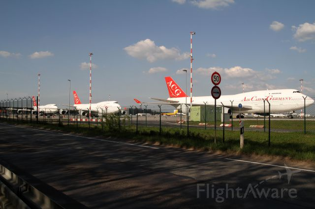 Boeing 747-400 (D-ACGB) - German Air Cargo out of business in May 2013, airline  declare insolvency