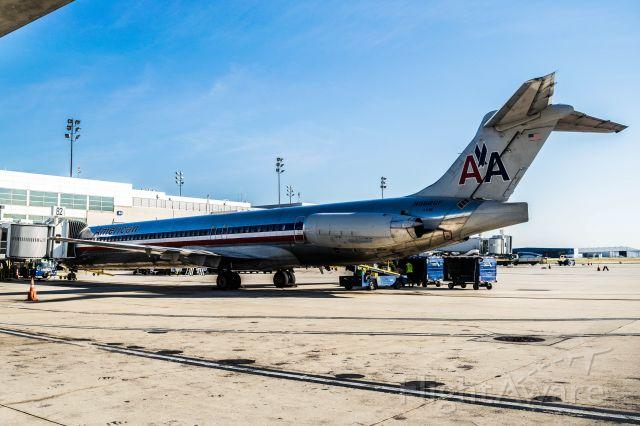 McDonnell Douglas MD-83 (N9626F) - Being loaded at Gate B2. Taken 9/3/19.