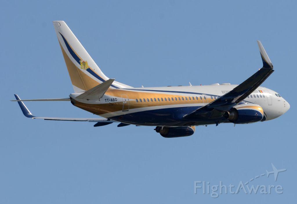 Boeing 737-700 (TT-ABD) - 19/05/2014<br />Republique du Tchad