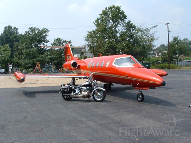 Learjet 25 (N25PW) - Two of my favorite toys.