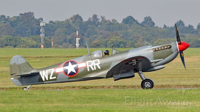 SUPERMARINE Spitfire (G-PBIX) - Spitfire IX : RW382 - painted in the markings of 309th Fighter Squadron - USAAF in WW2