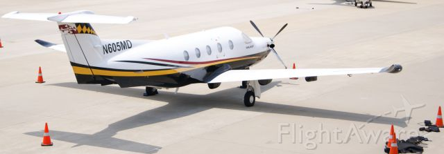 Pilatus PC-12 (N605MD)