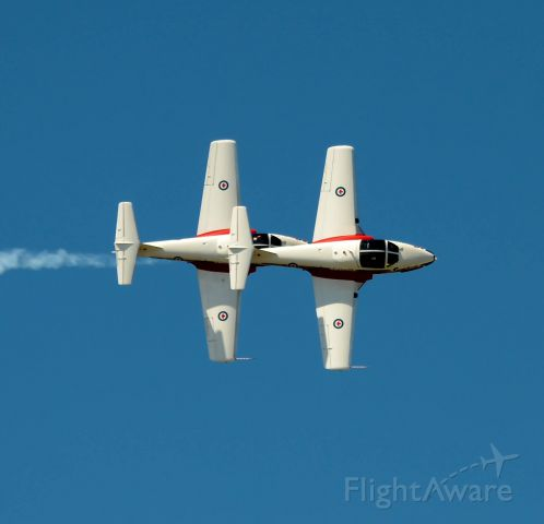 Canadair CL-41 Tutor (11-4096) - Performing at this years Gatineau Air Show.