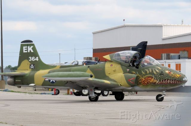 HUNTING PERCIVAL P-84 Jet Provost (N6364Z) - BAC 167 Strikemaster at CYYZ for CNE Airshow.