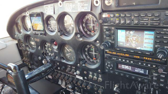 N3739W — - Flight deck