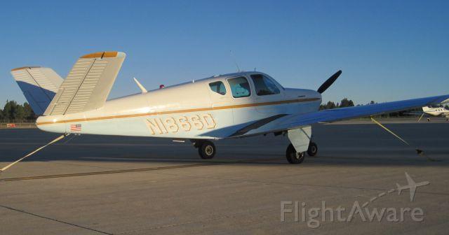 Beechcraft 35 Bonanza (N1866D) - Taken on June 4, 2011. Evening sunset in Flagstaff right before we flew back to Tucson.